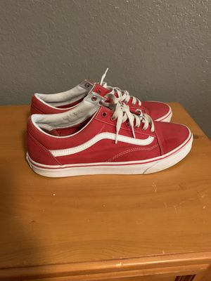 "Red ""old school"" vans for Sale in Kissimmee, FL"