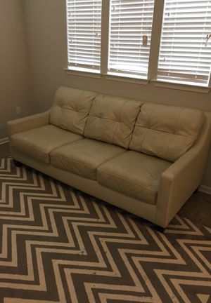 Leather couch $300 for Sale in Tampa, FL
