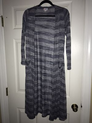 XS Navy and Grey Striped Lularoe Sarah Sweater for Sale in Springfield, VA