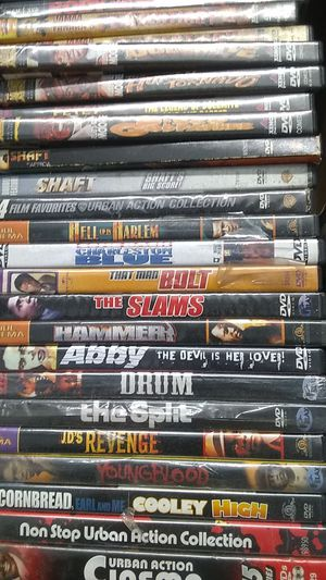 Urban DVD collection for Sale in Tampa, FL