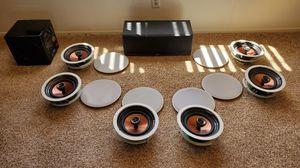 HiFi 7.1 Home Theater Speaker System - Klipsch / Sunfire Subwoofer for Sale in Escondido, CA