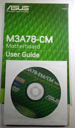 ASUS M3A78-CM Original Driver Software DVD for Sale in Etiwanda, CA