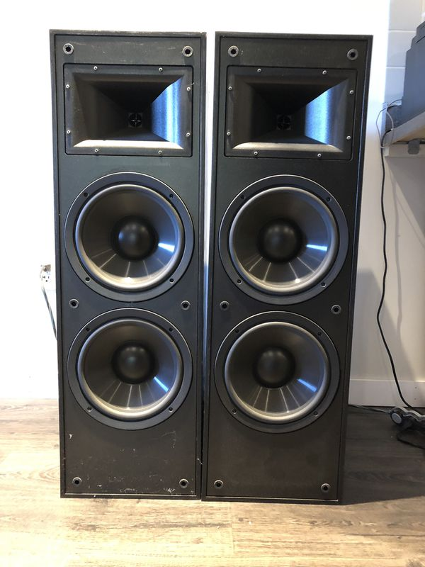 Klipsch KLF-10 loudspeakers has in great condition
