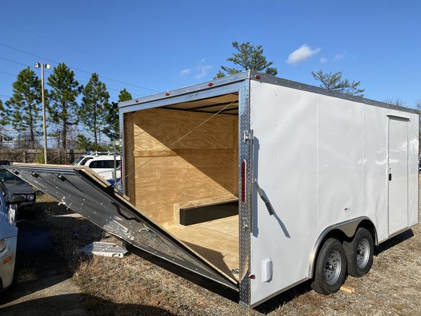 8.5x16 Cargo Trailer