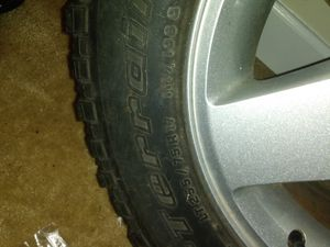 Jeep wheel and rim need gone asap $100 obo for Sale in Rockville, MD