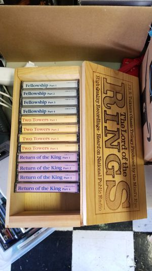 Lord of the Rings Cassette Tape Set for Sale in Marysville, WA