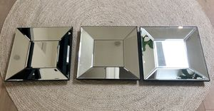 New (3x) Pottery Barn Bevel Square Mirrors for Sale, used for sale  San Francisco, CA