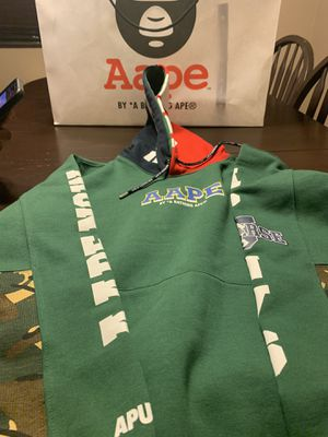 Bape hoodie 100% authentic size L for Sale in Rialto, CA