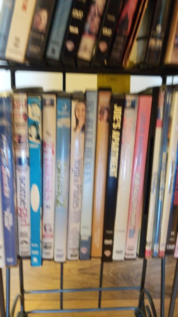 DVD collection with stand