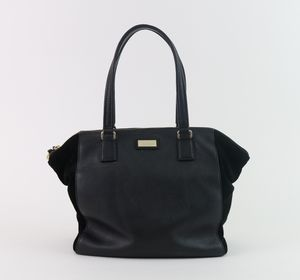 Kate Spade New York WKRU2736 Black Leather Carry All Tote Bag Handbag Purse for Sale in Alpharetta, GA