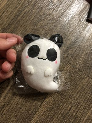 Little Ghost Panda Plushie Keychain for Sale in Denton, TX