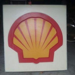 SHELL GASOLINE SIGN for Sale in Stockton, CA