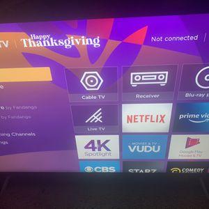 55 inch TCL 4k HDR smart Tv for Sale in Philadelphia, PA