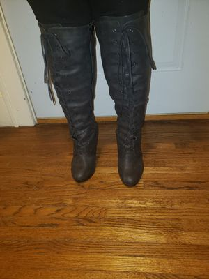Torrid Kneehigh wedge boots for Sale in Leland Grove, IL