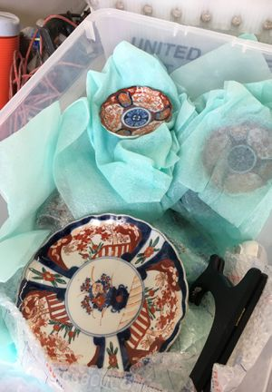 Amazing Hand Crafted & Painted Japan Japanese Oriental China Set RO653 for Sale in Tacoma, WA