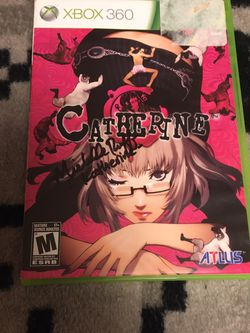 Autographed Catherine For Xbox 360 for Sale in Saratoga,  CA