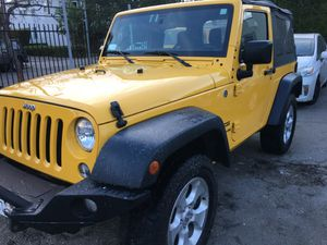2015 Jeep Wrangler 4X4 6 Cyl 6 Spd only 29K Miles MP3 CD Player Never Been Off Road Original Owner always serviced must sell $22,900 for Sale in Los Angeles, CA
