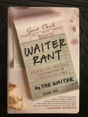 Waiter Rant by Steve Dublanica for Sale in Carol Stream, IL