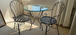 Ethan Allen Indoor Bistro Table and Chairs for Sale in Pittsburgh, PA
