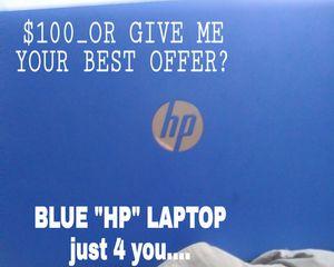 """BLUE_""""HP""""LAPTOP for Sale in Honolulu, HI"""