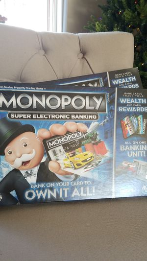 Monopoly Super Electronic Banking Game for Sale in Olmsted Falls, OH