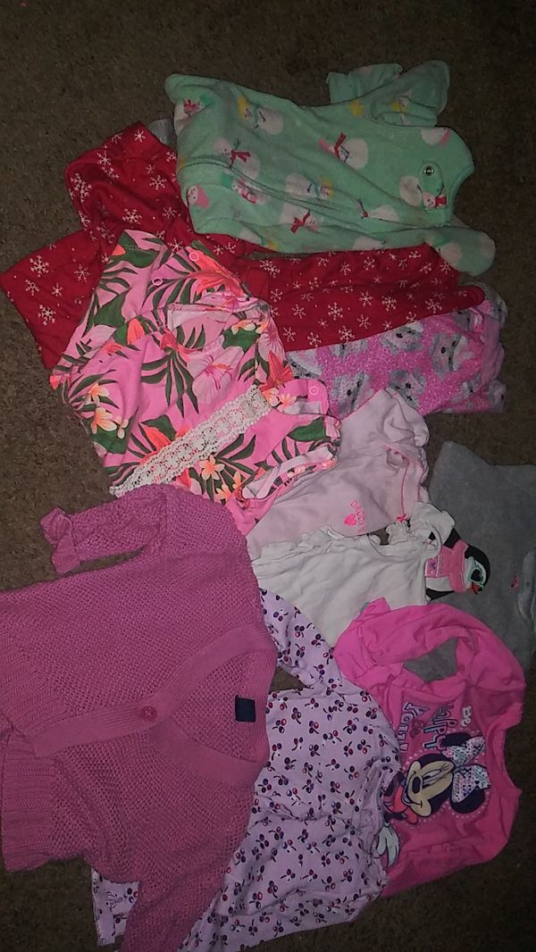 Free!!!Baby girl clothes 18 mnths. 24 months n more not pictured
