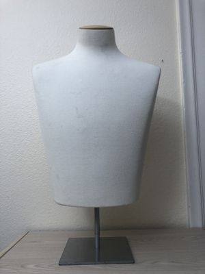 SILVESTRI Mannequin Torso Suit Male Dress Form Clothing Display *SUPER HIGH QUALITY* for Sale for sale  Sacramento, CA