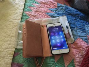 iPhone 7 /8 magnetic wallet phone case for Sale in Arvada, CO