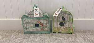 Mollie and Hatch decorative bird houses from Anthropologie for Sale in Kaysville, UT