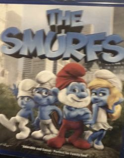 The Smurfs Blue Ray Movie for Sale in Elma,  WA