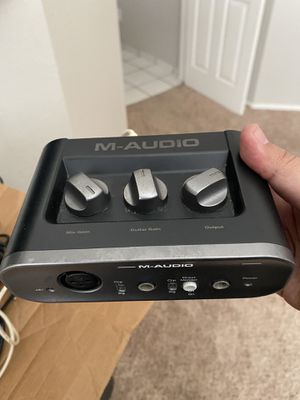 Audio interface M-audio fast track pro 2 for Sale in Modesto, CA