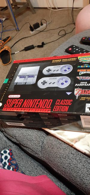 Super Nintendo classic for Sale in Cleveland, OH