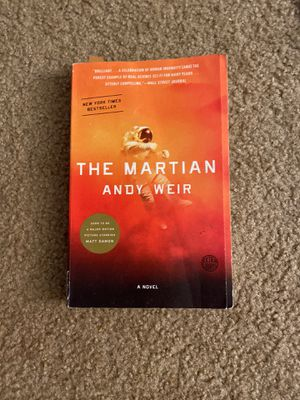 The Martian by Andy Weir for Sale in Bakersfield, CA
