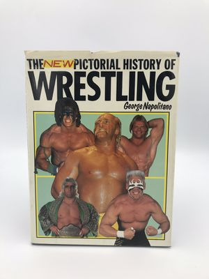 The New Pictorial History of Wrestling BOOK WWF WWE WCW for Sale in Alameda, CA
