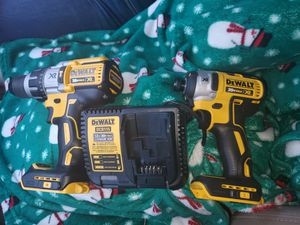 XR DEWALT BRUSHLESS 20V MAX HAMMER DRILL IMPACT DRILL. COMBO for Sale in Renton, WA