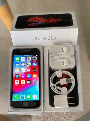 iPhone 6S Factory unlock 64GB Silver/ Gold/ Space Gray for Sale in Glenview, IL