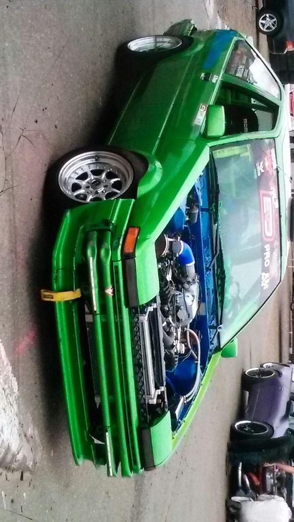 AE86 1984 Toyota Corolla hatchback drift car