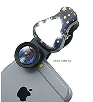 NEW! Phone Camera Lens,15X Macro Lens Wide Angle Lens for iPhone Samsung,Most Smartphones Black for Sale in Stuart, FL