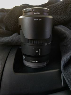 Sony SEL18135 - 18mm-135mm/f3.5-f5.6 for Sale in Fresno, CA
