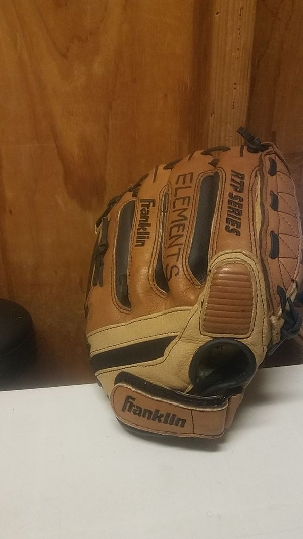 Franklin RTP softball glove, 12""