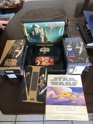 star wars vhs set for Sale in Paramount, CA