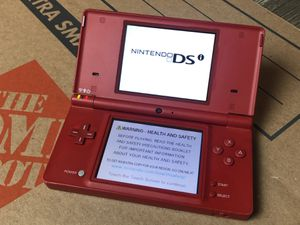 Red DSI - (No games or charger) for Sale in Midland, MI