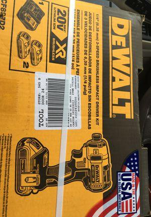 Dewalt Brushless Impact driver kit for Sale in Atlanta, GA