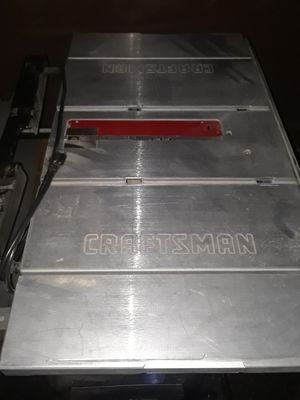 Craftsman table saw for Sale in Parma, OH