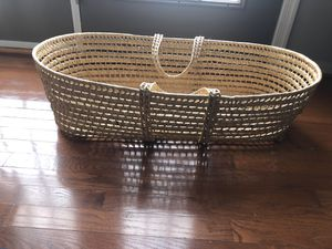 Baby Moses Basket for Sale in Harpers Ferry, WV