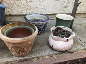POTS FOR PLANTS for Sale in Yorba Linda, CA