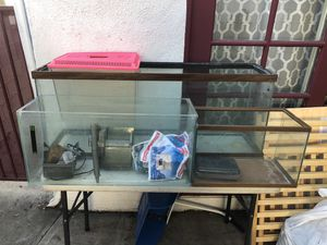 Fish/reptiles Tanks with water Pump/filters for Sale in Los Angeles, CA