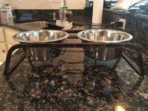 Brand new elevated cat/dog bowls for Sale in Lancaster, PA