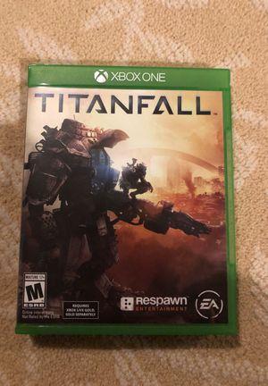 Xbox one game Titanfall for Sale in Ashburn, VA