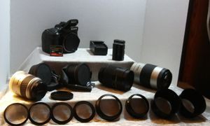 Sony Digital SLR Camera package w/ Tripod for Sale in Raleigh, NC